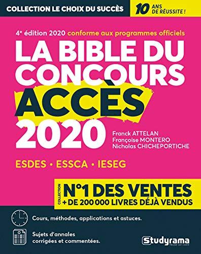 La bible du concours ACCES 2020