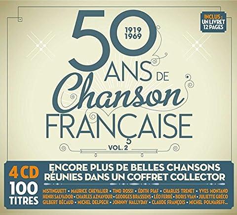 50 Ans de Chanson Française Vol.