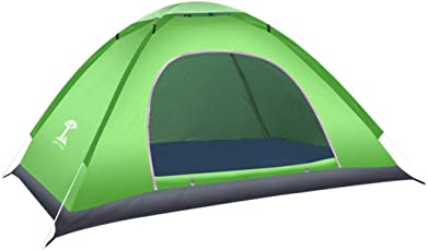Sabarry Ultraleicht Camping Zelt Wasserdicht Tipi Zelt Outdoor 1-2 Person Tent Pop up,Quick up System