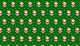 METALLIC 0,5 m Stoff-Weihnachten, Weihnachtsmann,