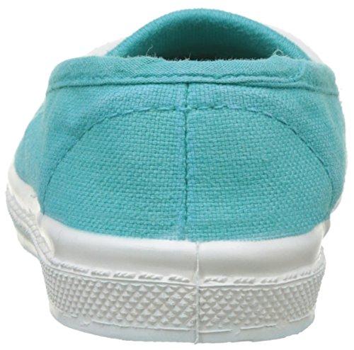 Bensimon Tennis Elastique, Baskets Basses Mixte Enfant Turquoise (Turquoise)
