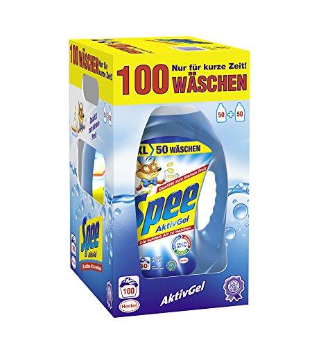 Spee AktivGel Waschmittel , 1er Pack (1 x 100 Waschladungen)