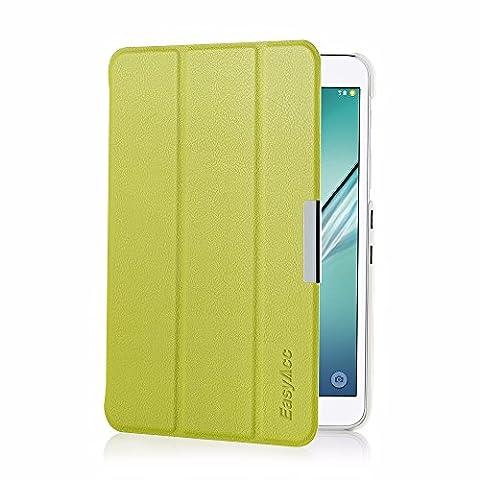 Samsung Galaxy Tab S2 8.0 Hülle, EasyAcc Ultra Dünn Case mit Standfunktion Auto Wake up Sleep PU Leder Hüllen für Samsung Galaxy Tab S2 T719/ T715N 20.31 cm (8 Zoll) Tablet-PC (Grün, Kunstleder)