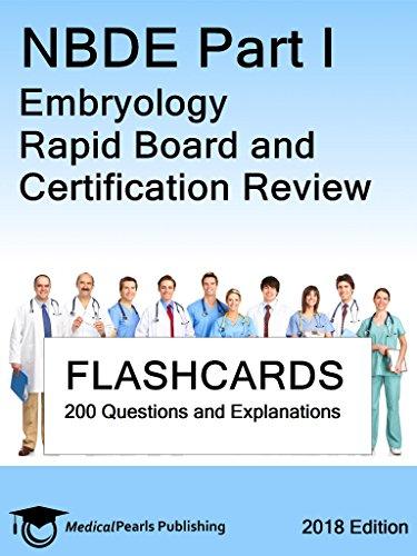 Nbde Part I Embryology: Rapid Board And Certification Review por Medicalpearls Publishing Llc epub