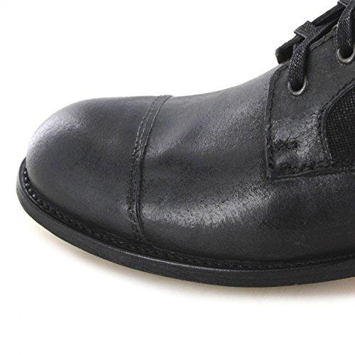 FB Fashion Boots Sendra Boots 9791 Negro/Herren Schnürstiefel Schwarz/Herrenstiefelette Negro