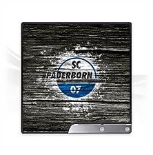 DeinDesign Sony Playstation 3 Slim CECH-2000-3000 Folie Skin Sticker aus Vinyl-Folie Aufkleber SC Paderborn Fanartikel Holz Look