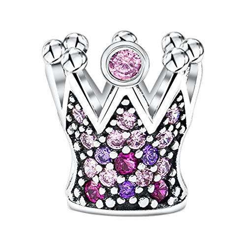 KAAYAH - Princesas Corona - Colgante dijes mujer