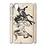 Gogh Yeah Printing Asian Artists Horse Girls Cute For Htc Desire 530 Abs Case