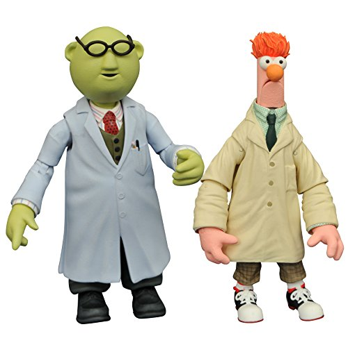 Statler Muppets Kostüm - Muppets The jan168644 Select Series 2 Becher und Bunsen Action Figur