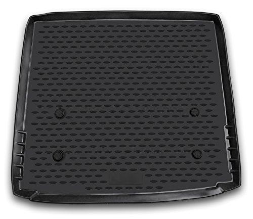 AD Tuning TMP12010 Passform Kofferraumwanne, Anti-Rutsch Oberfläche, schwarz