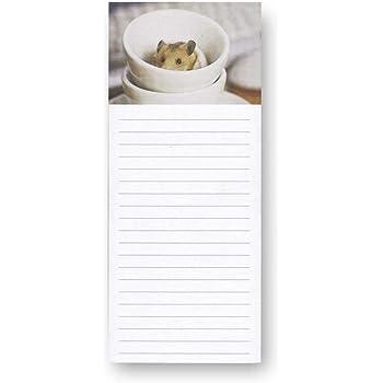 Magnetischer Notizblock /& Bleistift Kühlschrankmagnet Einkaufsliste Kitten Welpe