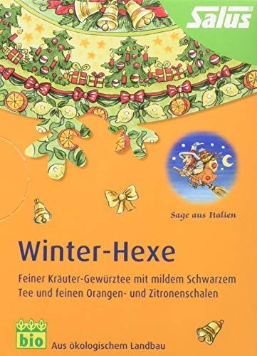 Salus Winter-Hexe Kräuter-Gewürztee (15 FilterBeutel = 30g) BIO, 3er Pack (3 x 30 g) - Hexe Kraut