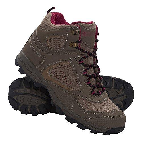 Mountain Warehouse Chaussures Femme Randonnée Trekking Semelle EVA Mcleod Marron