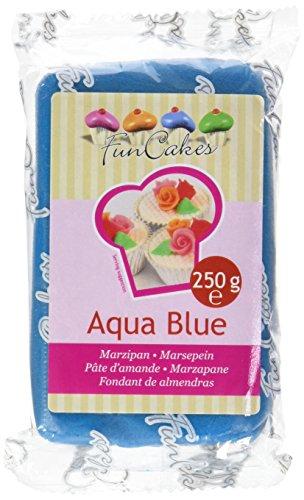 FunCakes Pâte d'Amande Bleu 250 g