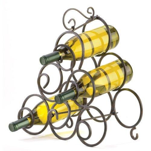 gifts-decor-wrought-iron-scrollwork-spiral-wine-bottle-rack-stand