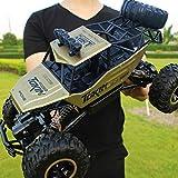 YXWJ RC Voiture 1/12 4WD 4x4 Conduite Voiture Double Moteurs Conduire Bigfoot Voiture Télécommande Modèle De Voiture Véhicule Tout-Terrain Jouet pour Enfants Âge 6+ Cadeau