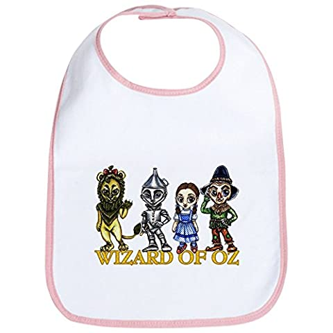 CafePress - The Wizard Of Oz Gang - Cute Cloth Baby Bib, Toddler Bib