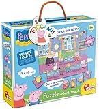 Liscianigiochi 43484 Puzzle Velvet Touch a Scuola con Peppa