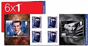 Doctor Who 1st First Class Stamp Book