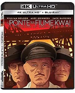 Il Ponte sul Fiume Kwai Edizione 60 Anniversario (Blu-Ray 4K Ultra HD + Blu-Ray)