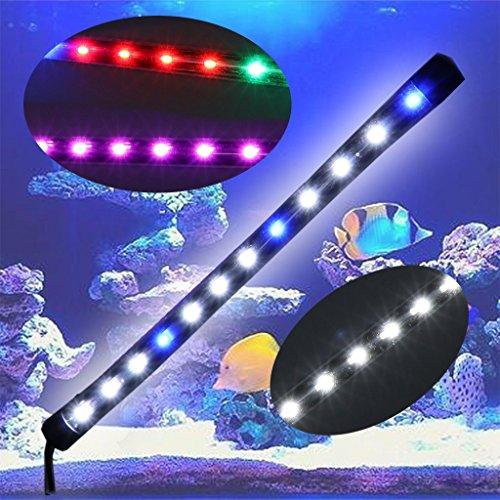 Top-Sell 6W impermeabile impermeabile padella per pesci acquario LED Light Bar Lamp Strip EU Plug