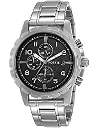 Fossil Analog Black Dial Men's Watch-FS4542