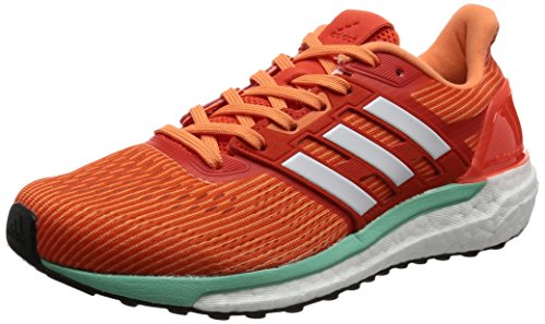 adidas Damen Supernova Laufschuhe, Orange (Energy / Footwear White / Easy Orange), 39 1/3 EU