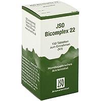 Jso Bicomplex Heilmittel Nummer 22 150 stk preisvergleich bei billige-tabletten.eu