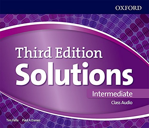 Solutions 3rd Edition Intermediate. Class Audio CD (Solutions Third Edition)