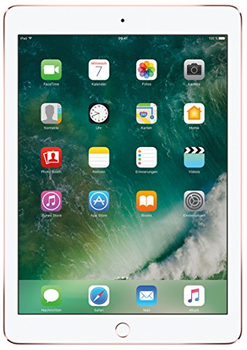 Apple  iPad Pro MM192FD/A 24,63 cm (9,7 Zoll) Retina Display (A9X, 128GB,  iOS 10) Roségold (Ipad Air 2 128 Cellular)