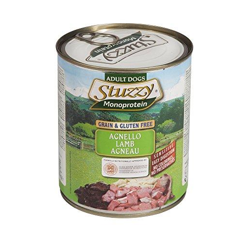 Alimento cane Stuzzy Dog Monoprotein agnello 800g