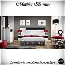 Dormitorios matrimonio completos dormitorio adultos habitacion completa ref-16