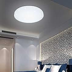 LED Deckenleuchte Sternenhimmel Glitzer Wohnzimmer lampe Badleuchte Weiß