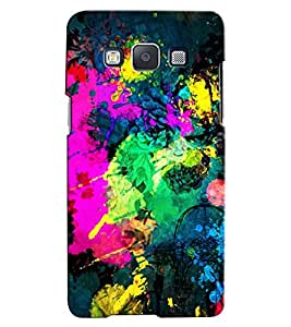 Citydreamz Creative Modern Art Abstract Hard Polycarbonate Designer Back Case Cover For Samsung Galaxy On7 Pro