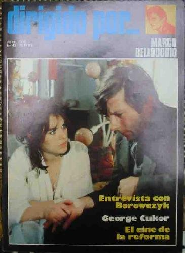 Portada del libro DIRIGIDO POR... Nº43. MARCO BELLOCCHIO