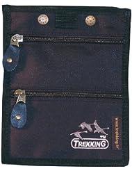 TREKKING-Sacoche pochette voyage tour de cou Toile-4030-Noir