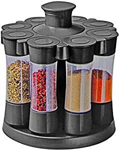 Épices carrousel incl. 8 épices Shaker épice noir Rondelle