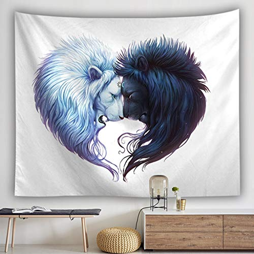 ZXH77f Wolf Tapestries Animal Tapiz Colgante De Pared