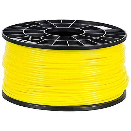 NuNus PP Filament (3mm,gelb) Polypropylen Filament 1kg für 3D Drucker - Lebensmittelecht - Food Grade… (3d-food)
