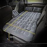 RMJXJJ-car air bed Spezielle Auto-aufblasbare Bett-Reise-Bett-anmaßende Auto-Abgas-Bett-Hintere Bett-Matratze (Farbe : Beige)