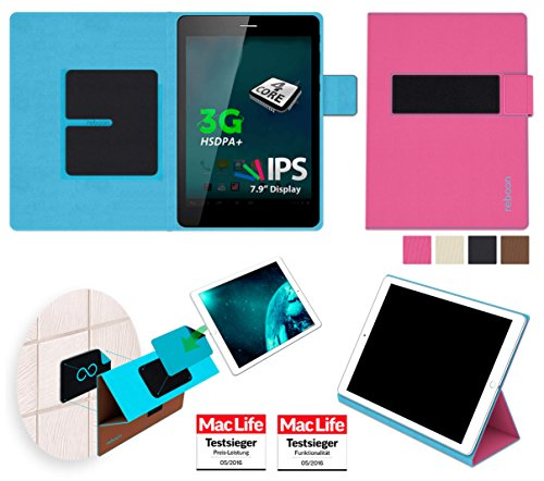 reboon Allview Viva H8 Hülle Tasche Cover Case Bumper | Pink | Testsieger