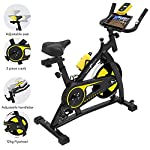 51DsVrgfRJL. SS150 Nero Sports Cyclette Aerobica da Spinning Allenamento Indoor Fitness Cardio Spin Bike