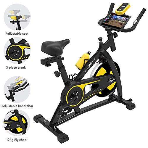 51DsVrgfRJL. SS500  - Nero Sports Upright Exercise Bike Indoor Studio Cycles Aerobic Training Fitness Cardio Bike