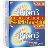 Bion 3 Adultes Lot de 2 x 60 Comprimés