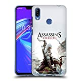Head Case Designs Ufficiale Assassin's Creed Connor Ascia III Arte Chiave Cover Morbida in Gel per Zenfone Max (M2) ZB633KL