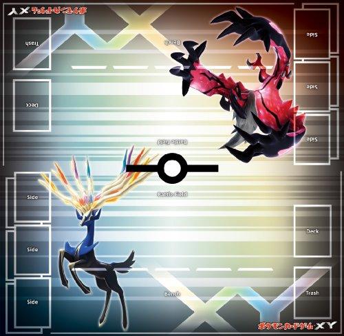 Japanese Pokemon XY Playmat Very Cool!