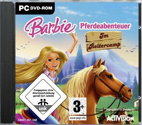 Preisvergleich Produktbild Barbie Pferdeabenteuer: Im Reitercamp [Software Pyramide]