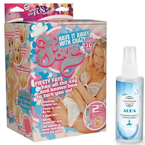 Aufblasbare Sexpuppe Liebespuppe Love-Doll Set Frauenpuppe weibliche lebensechte lebensgroße mit 3 Öffnungen vaginales, orales oder anales Vergnügen Sexpuppen Sexspielzeug für Männer Ihn