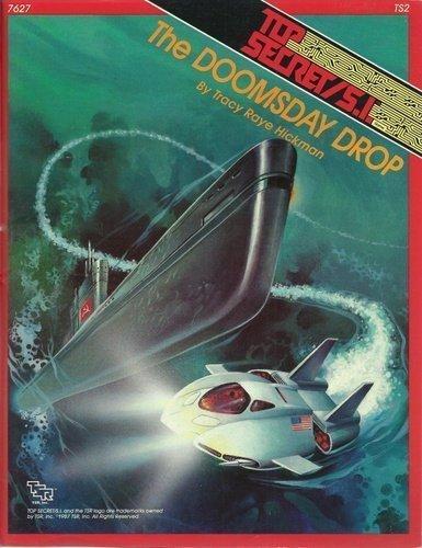 The Doomsday Drop (Top Secret-S.I. Module TS2) [Paperback] by Doug Niles; Tra... (Drop-modul)