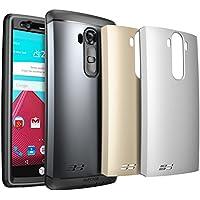 LG G4 Custodia/Case, custodia SUPCASE resistente e robusta di tutto il corpo acqua con Built-in protezione dello schermo per LG G4 2015 Release, 3 cover intercambiabili, vendita al dettaglio (space grigio / argento / oro)